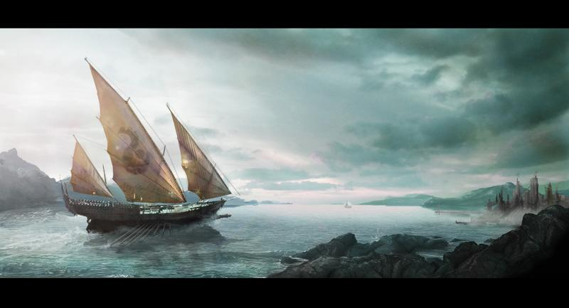 Matte_Painting__The_Arrival_by_dIeGoHc.j