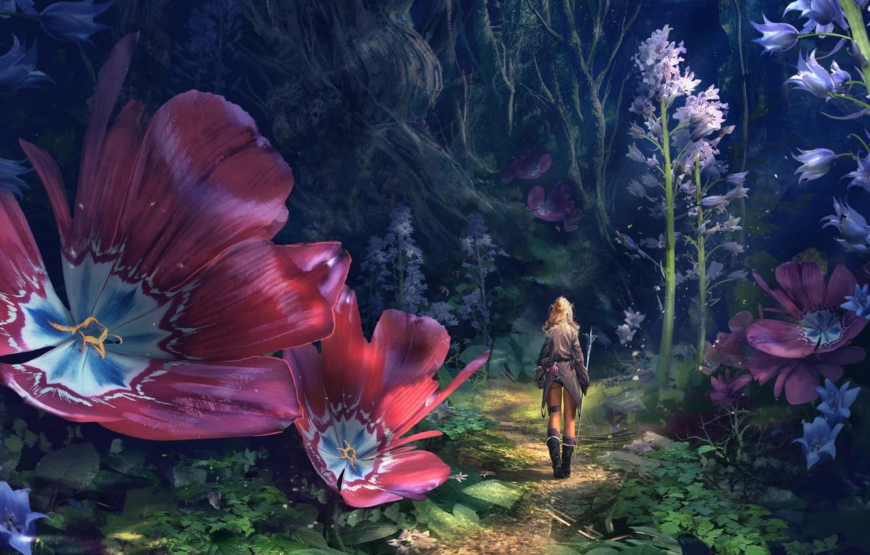 elf-warrior-lilliputian-explorer-rod-path-flowers-forest-gir.jpg