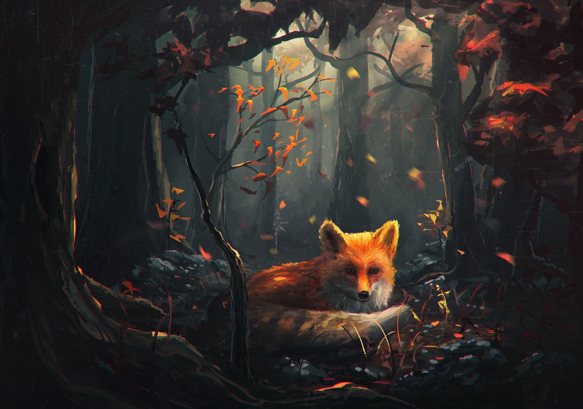 fox-art-view-forest-tree.jpg