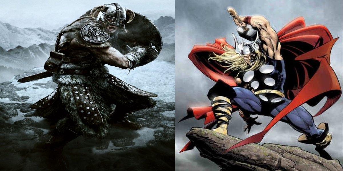 Dovahkiin+vs+Thor.jpg