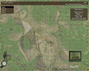 DayZ. Карта игрока.