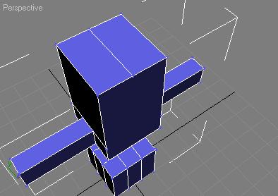 Разрезаем самый верхний полигон