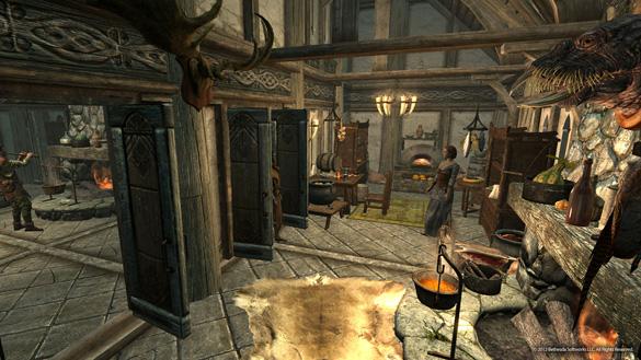 Скриншот TESV: Hearthfire