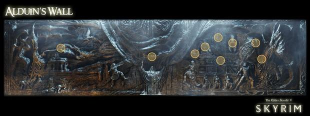 Скрытый в глубинах Скайрима, высится древний храм небесной гавани, последнее прибежище истощенных сил Клинков. В нем находится древний барельеф - Стена Алдуина, названная в честь грозного дракона, на ней изображенного. На стене высечены история и пророчество, повествующее о величайшей легенде Тамриэля - истории Алдуина.