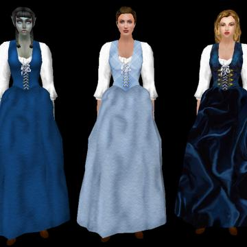 Peasant Gowns
