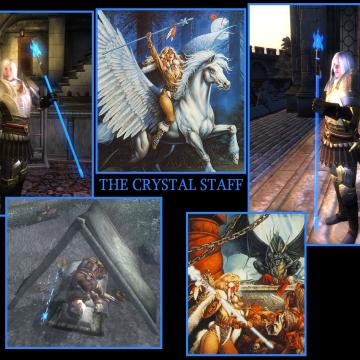 Blue Crystal Staff