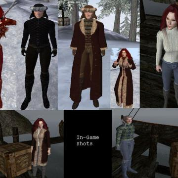 Elynda's Winter Wear