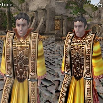 Alternative Texture for the Robes