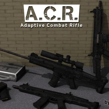 Zealotlees ACR - Adaptive Combat Rifle