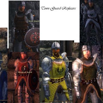 Town Guard Armor Replacer