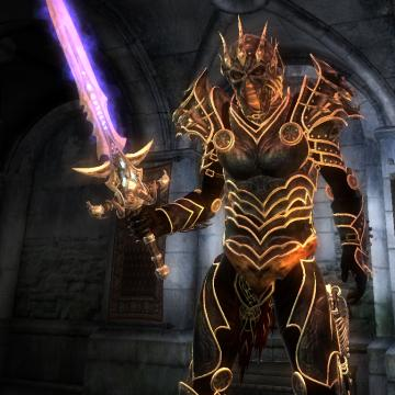Dread Knight Armor and Weapons