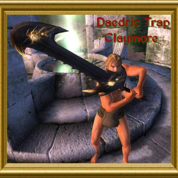 Daedric Trap Weapons