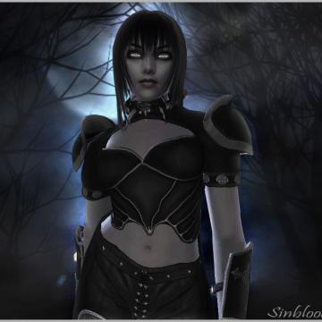 Sinblood's Nightweave Outfit for HGEC