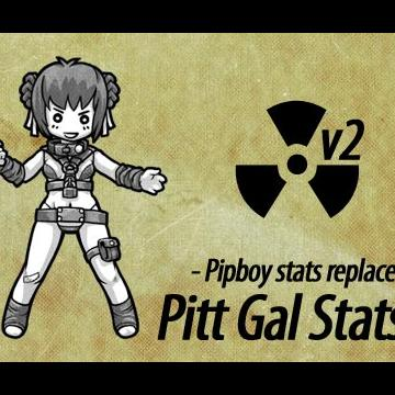 Pitt Gal Stats - Pipboy stats replace