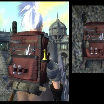 Jannix Quinn's Scripted Backpacks