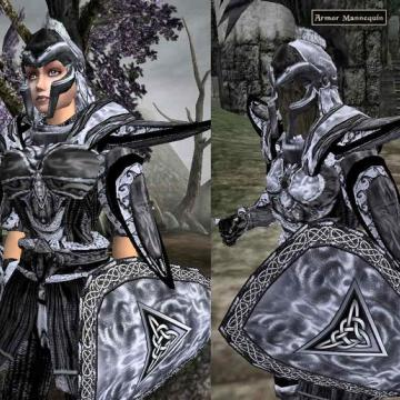 Black Indoril Elite Armour