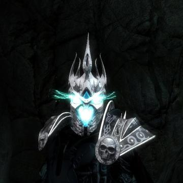 New Lich King Helm