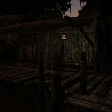 Shacks and Docks Retextured