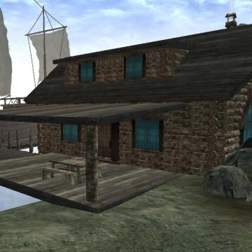 Solstheim Seaside Cabin