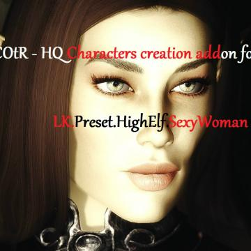 LK. Preset. HighElf. SexyWoman