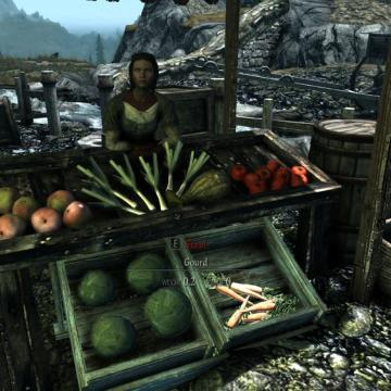 Whiterun Outskirts Market