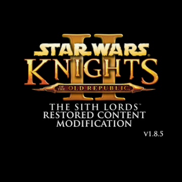 The Sith Lords Restored Content Mod