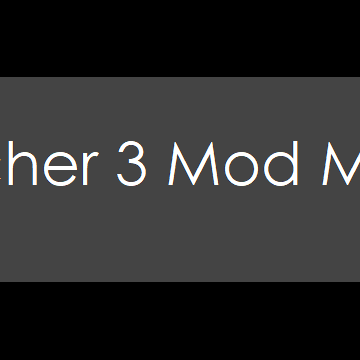 The Witcher 3 Mod Manager