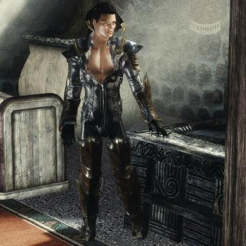 LK.SamL.Men.Forbidden Ebony Armor