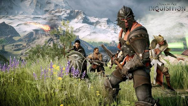 Dragon Age: inquisition — Геймплейное видео