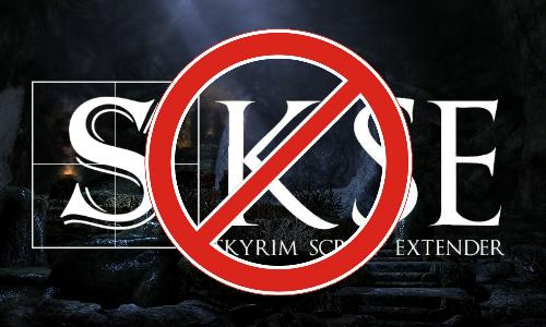 Новая сборка модификаций: Skyrim-сборка без SKSE (Skyrim no SKSE mod compilation)