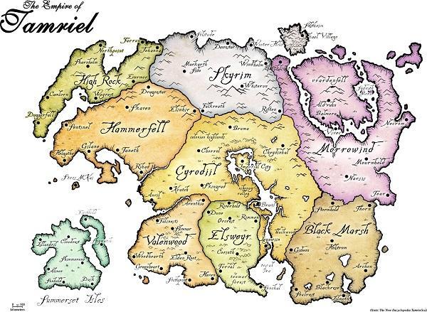 The Elder Scrolls Lore — Видеоэкскурсии по закоулкам Тамриэля