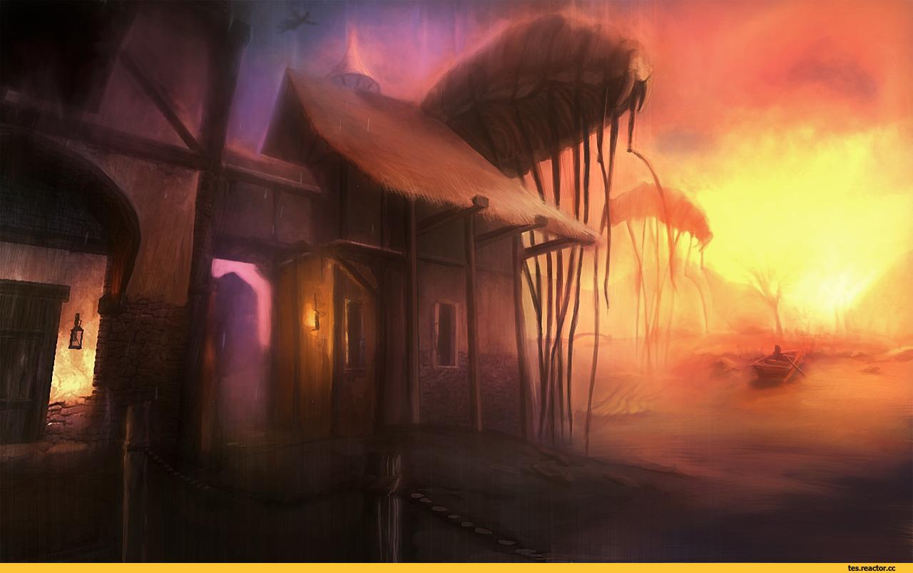 Вечный огонь - Ночной шторм