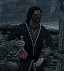 Продавец зелья