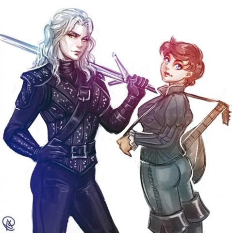Ведьмак и Лютик