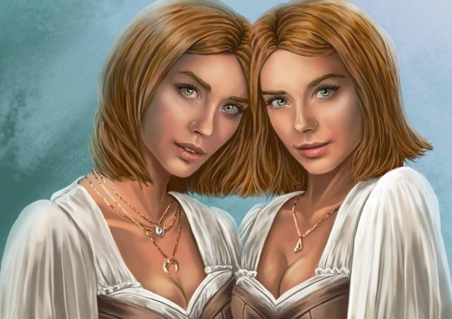 Isabella and Helena