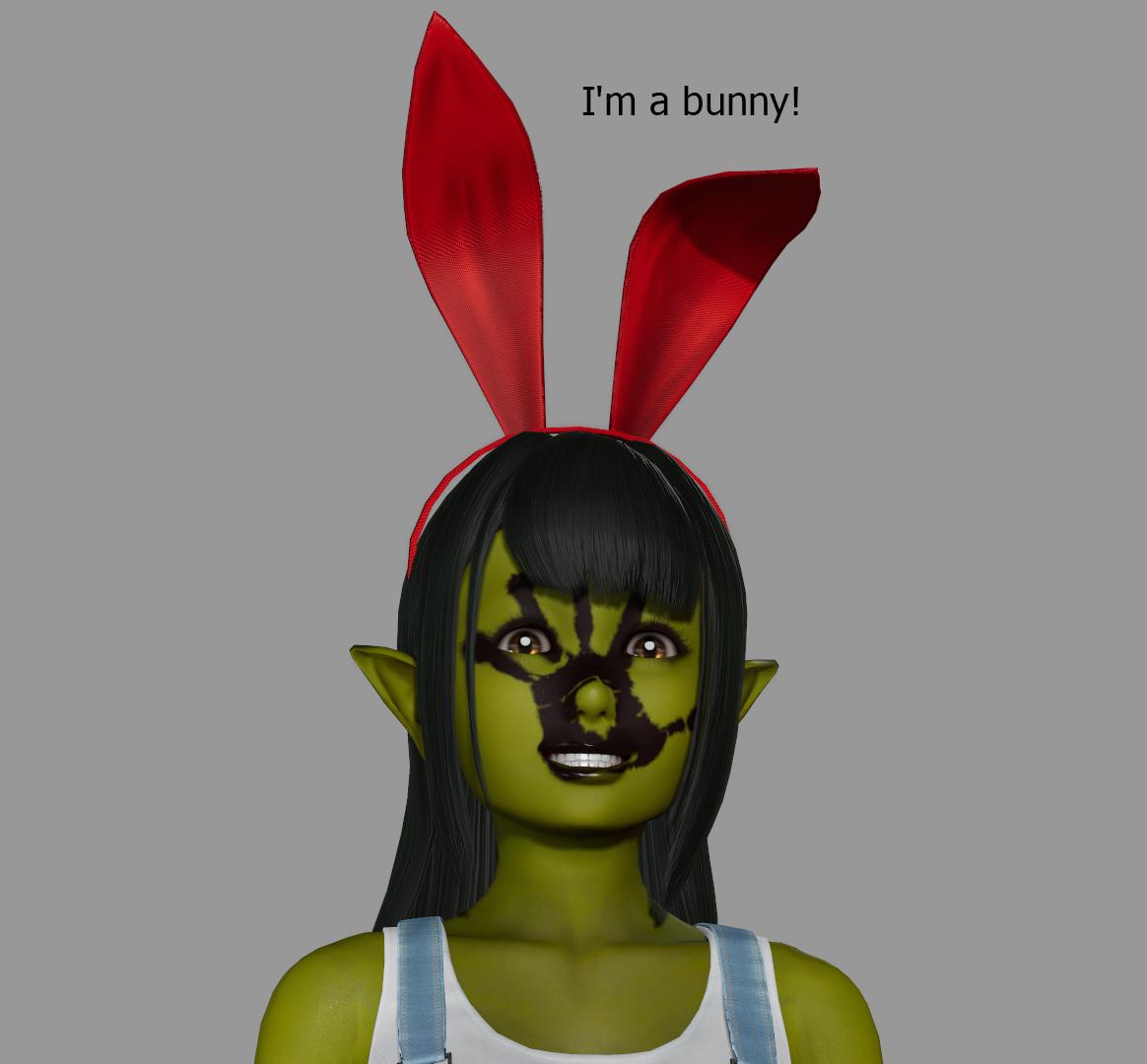 I'm a bunny!