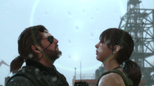 Metal Gear Solid V, та самая сцена^^