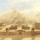 Пустынный город
