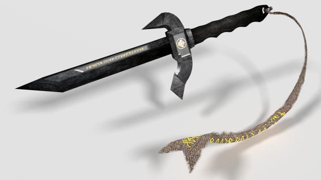 Plender Practice 03 - Long Military Knife