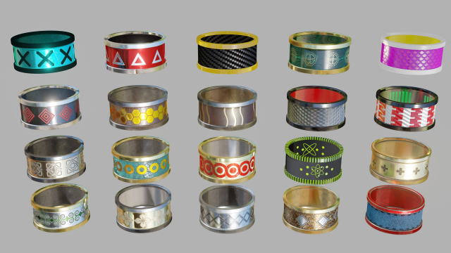 Simpe Rings Collection 01