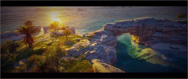 Природа и городской пейзаж Одиссеи