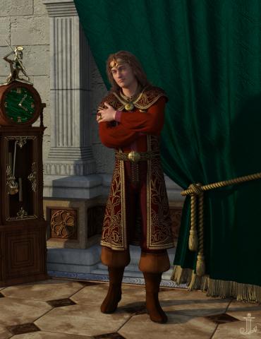 Император Леовик в замке Анвила
