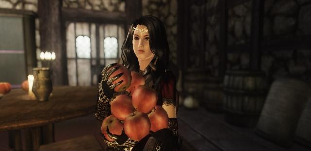 Пожиратель Люсьенкиных яблок.
