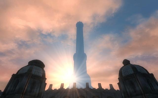 Башня на Закате