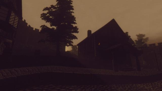 Туманное утро в Корроле