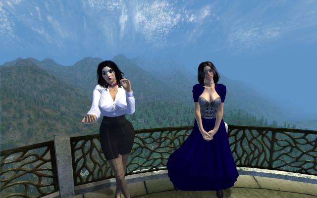 Элизабет из BioShock в Oblivion