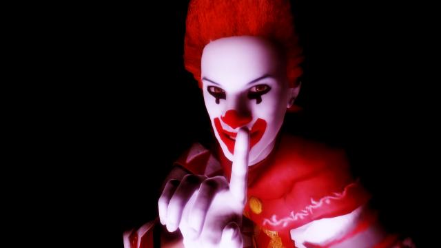 боишься ли ты клоунов?