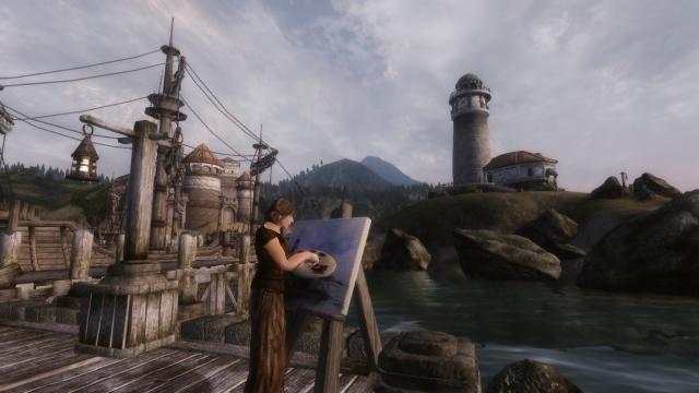 Искусство в порту Анвила