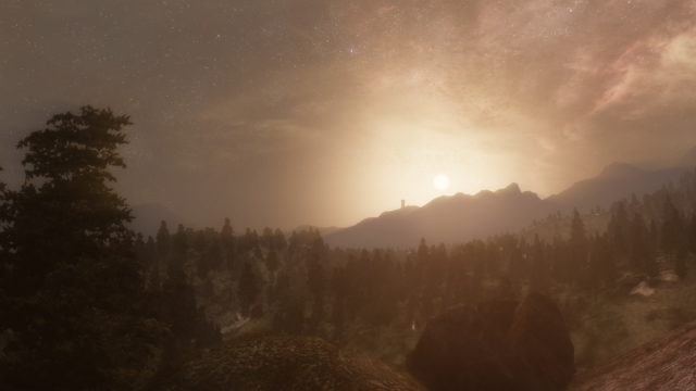 Закат над Сиродилом
