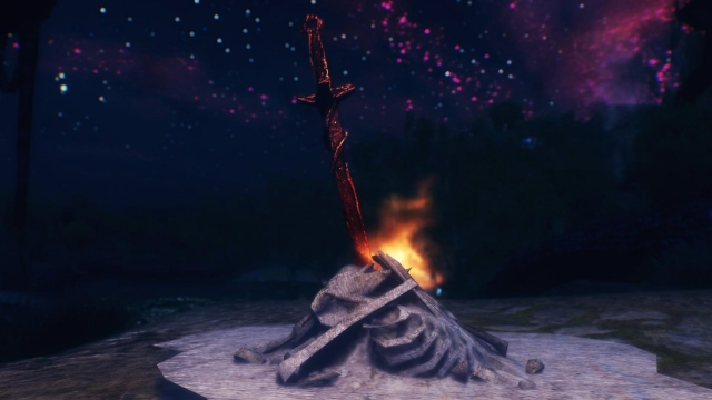 Dark souls bonfire